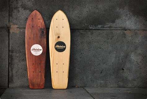 Handmade Wooden Things - iberica skateboards