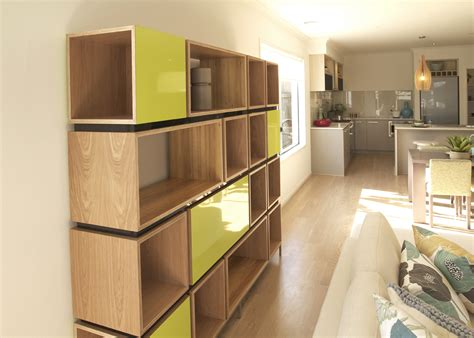 plywood design alex earl shelving unit in american oak blackwood and
