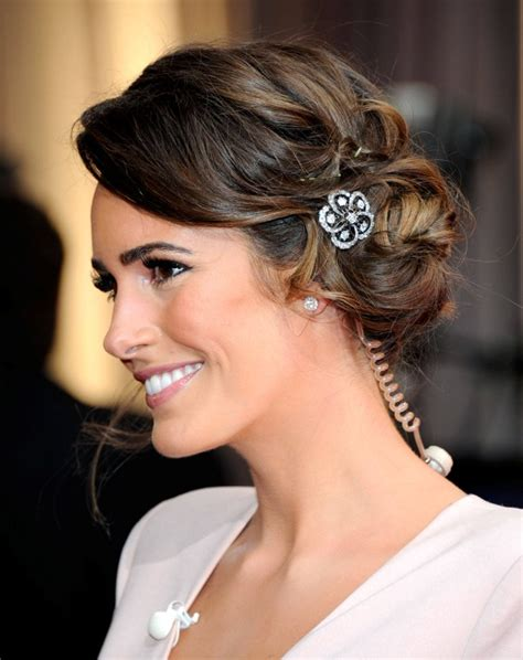 Vintage Bridesmaid Hairstyles 2013 by Vintage Bridal Hairstyle Glitter Lace