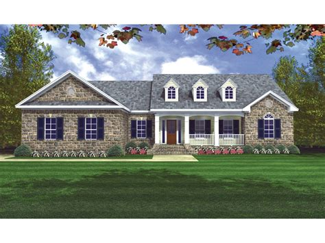 Av Jennings House Floor Plans by Ranch Style House Plans With Porch House Design Plans