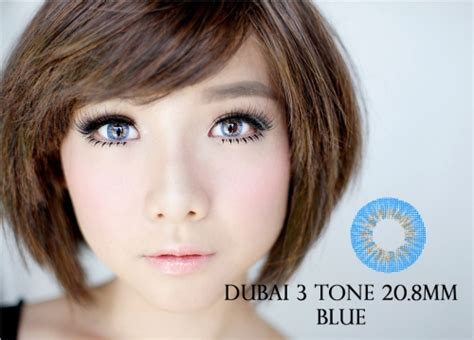 Promo Softlens New More Dubai Mps265 contact lens murah bearfully