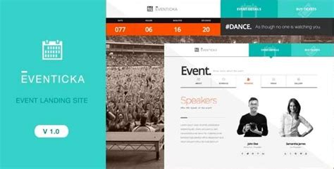 design event page 20 event and conference landing page templates tutorial