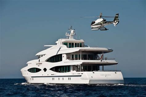 yacht with helicopter multi million dollar mega yacht with a helicopter pad