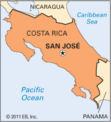 san jose jungle map costa rica capital map