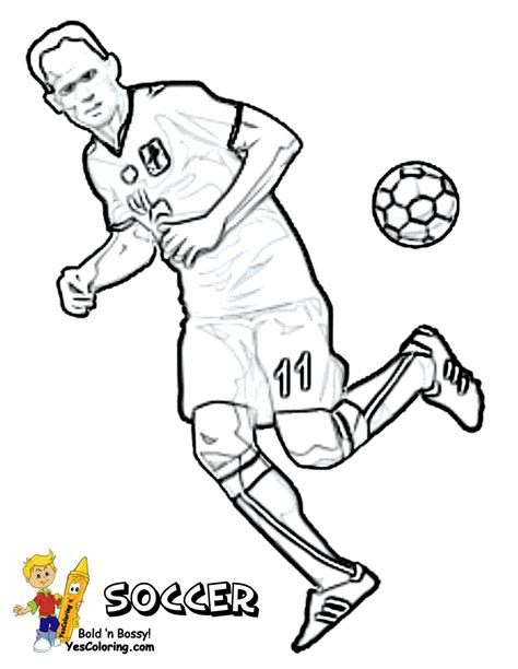 soccer coloring page soccer goalkeeper coloring pages
