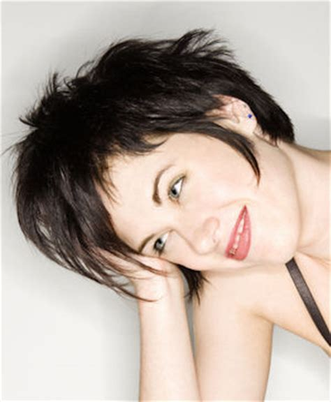 extra long layered pixie modern and funky pixie hairstyle
