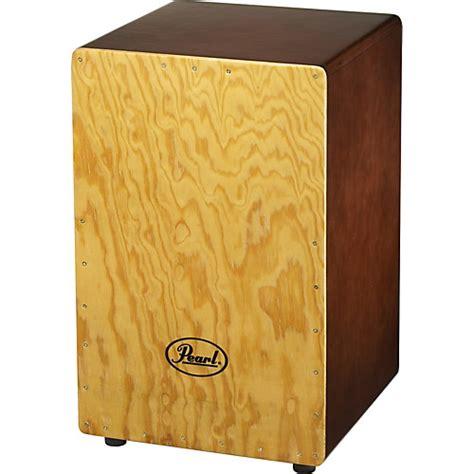 Akustik Drum Box Cajon pearl primero wood box cajon brown musician s friend