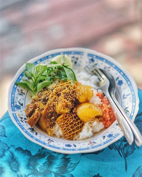 nasi babat cak yasin sederhana  sambal koreknya