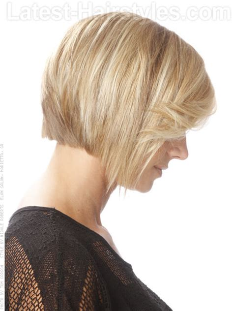 chin length hairstyles back view chin legnth bob with fringe hairstylegalleries com