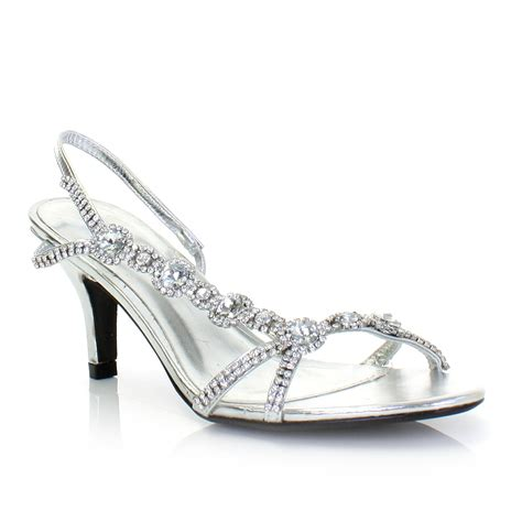 silver kitten heel sandals sandals for low mid gold silver diamante kitten heel