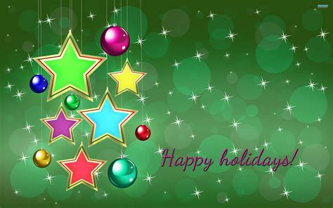 happy holidays wallpapers wallpaper cave