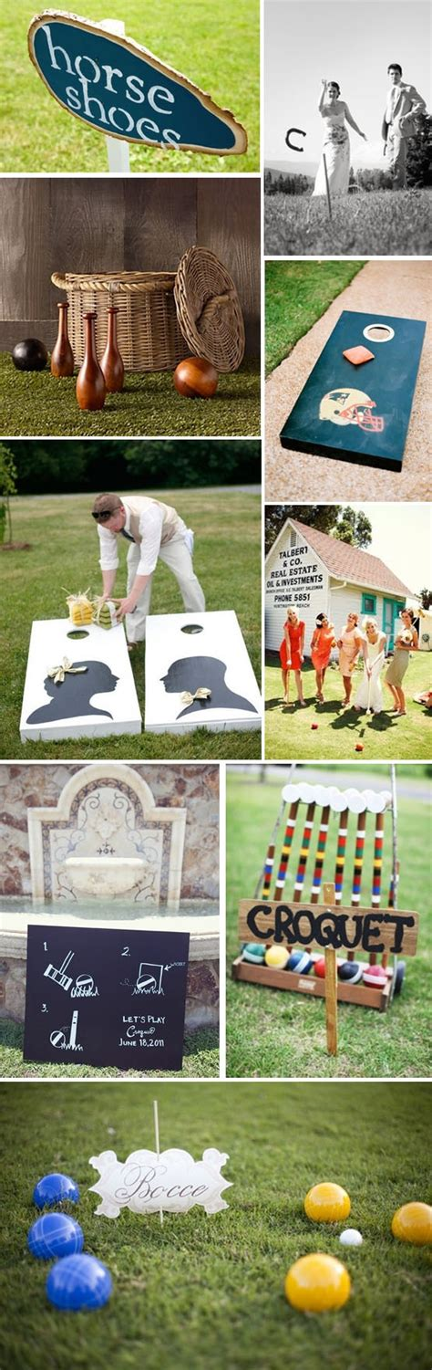 backyard wedding games 222 best things that inspire me wedding edition images on