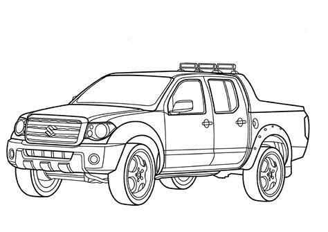 printable coloring pages trucks truck coloring pages 4160 bestofcoloring com
