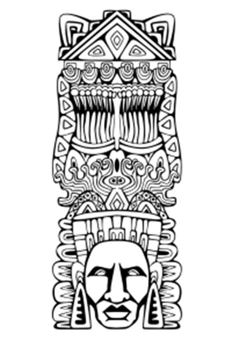 mayan coloring pages pdf mayans incas coloring pages for adults
