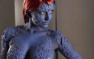 Home cosplay mystique full body cosplay