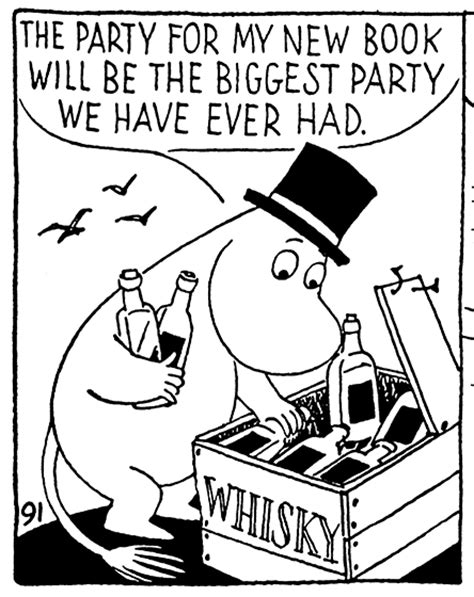 Moomin And The Sea easy now it might be whisky moomin moomin