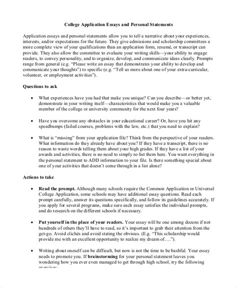How To Write Personal Essay For College by College Essays College Application Essays Personal Essay Sles For College
