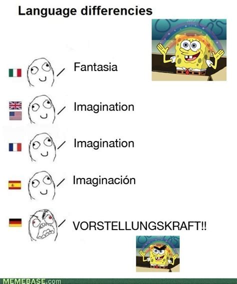 German Memes - language differences on tumblr