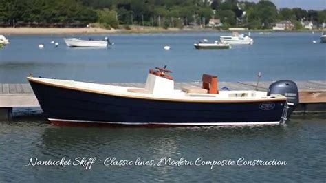 total boat skiff build nantucket skiff 17 by nantucket boat works youtube