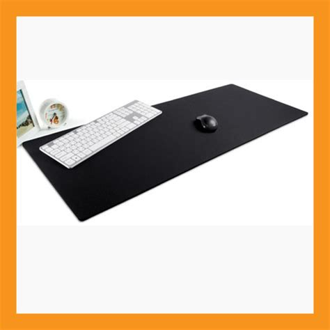 extra large desk mouse pad 37 x 15 neoprene 6mm padded