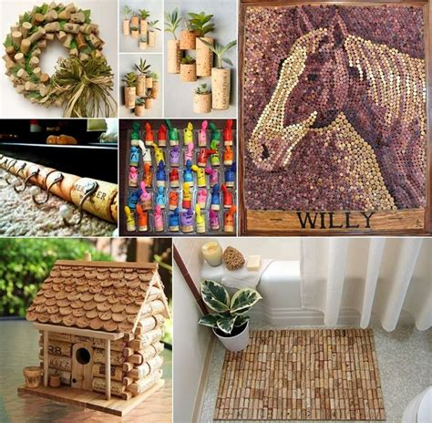 craft ideas to decorate your home 18 wine cork craft ideas to decorate your home