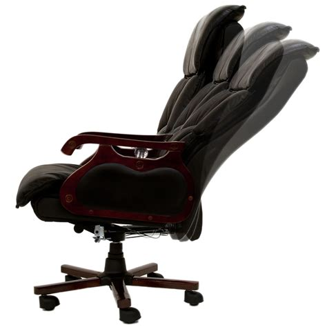 office chair massage manager swivel real leather