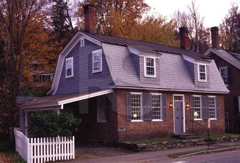 gambrel colonial colonial home with gambrel roof this has a carport which