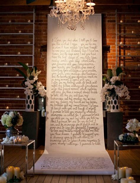 Wedding Vow Backdrop by Wedding Vow Backdrop Wedding Shower