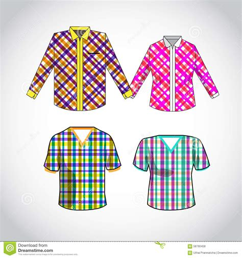 pattern shirt vector vector shirt with pattern design stock vector image