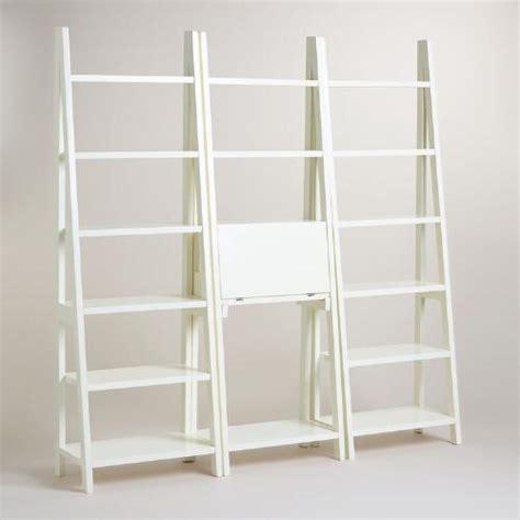 white lacquer josephine bookcase collection world market