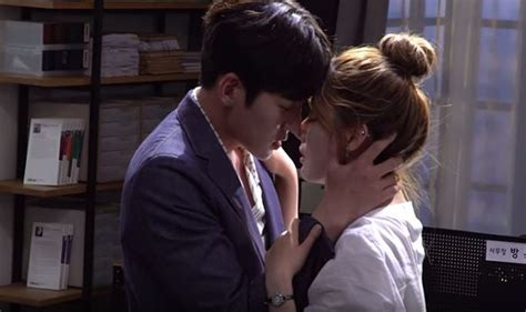 hot kiss scene in bedroom korean drama suspicious partner updates ji chang wook nam ji hyun s steamy kiss scene