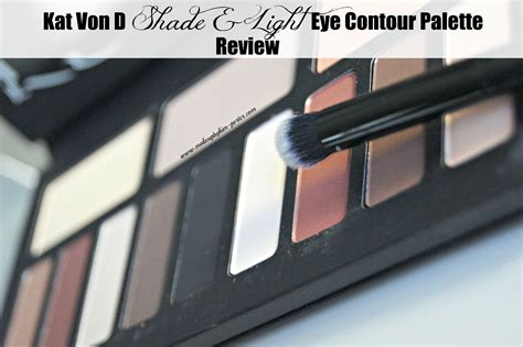 kat von d shade light contour palette kat von d shade and light eye contour palette review