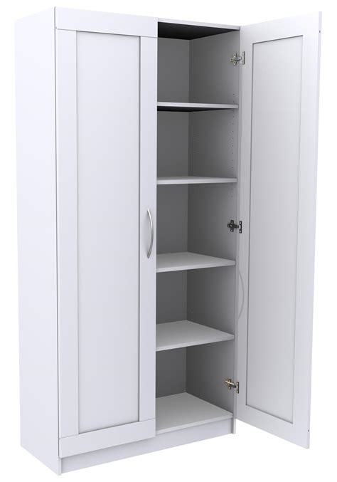 storage cabinets with doors and shelves strong hold products shoe storage cabinet