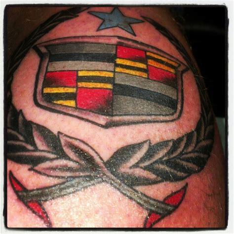 Cadillac Tattoos by School New School Cadillac Tattoos
