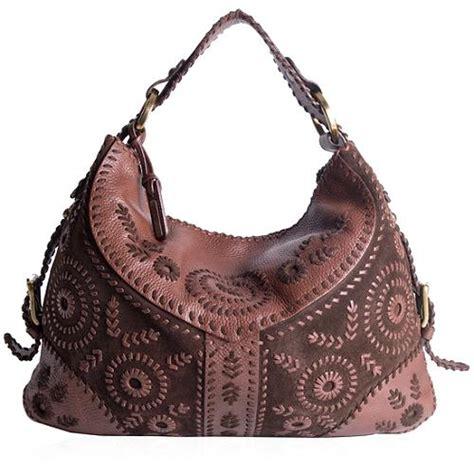 Fiore Folktale Large Hobo Bag by Fiore Suede Hobo Handbag