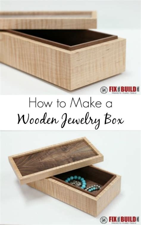 easy to make jewelry box 17 best images about woodworking plans on
