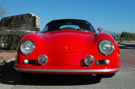 Porsche Gtrs For Sale Porsche 356 Gtr 550 Speedster Wide Quot Recreation