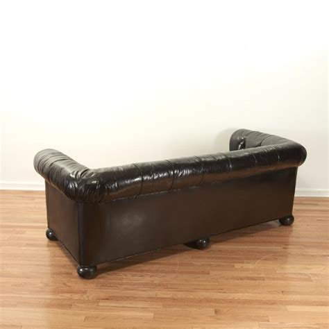 brown chesterfield sofa designer black brown leather chesterfield sofa