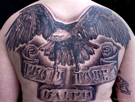 eagle back tattoo eagle tattoos designs pictures page 8