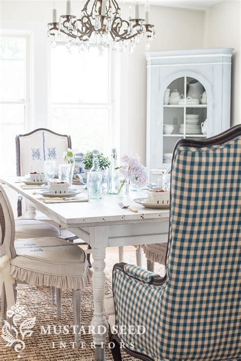 Miss Mustard Seed Dining Room by Farmhouse White Dining Room Table Miss Mustard Seed