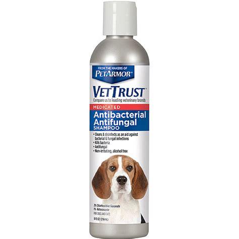 antifungal for dogs vettrust antifungal shoo for dogs cats walmart