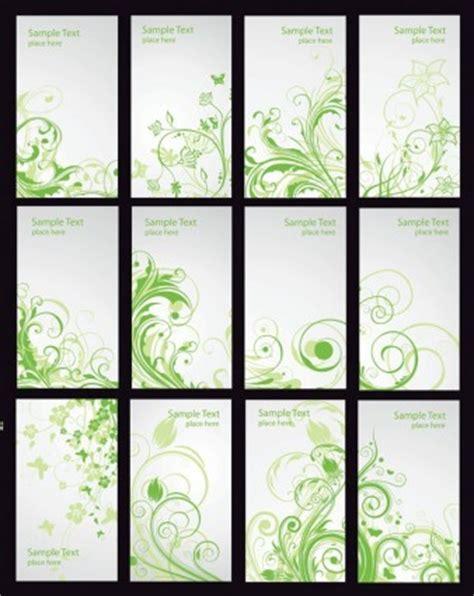 Xuping Set Kupu Kupu Free Box kartu hijau floral vector set vector floral vektor gratis