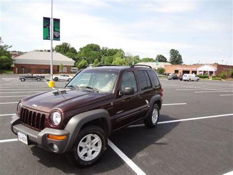 2004 Jeep Liberty Type Buy Used 2004 Jeep Liberty Sport Sport Utility 4 Door 3 7l