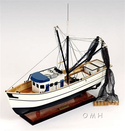 fishing boat model plans authentic shrimp fishing boat model boat models
