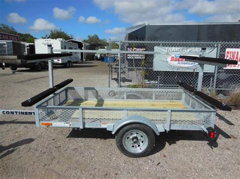 galvanized boat trailer manufacturers continental trailers kt4815 galvanized kayak watercraft
