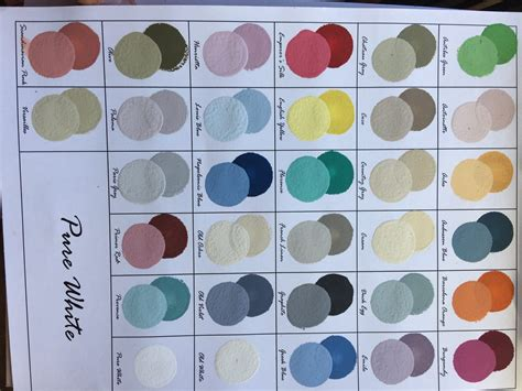 mixing chalk paint colors ideas chalk paint colors 32 home likes deco ideas