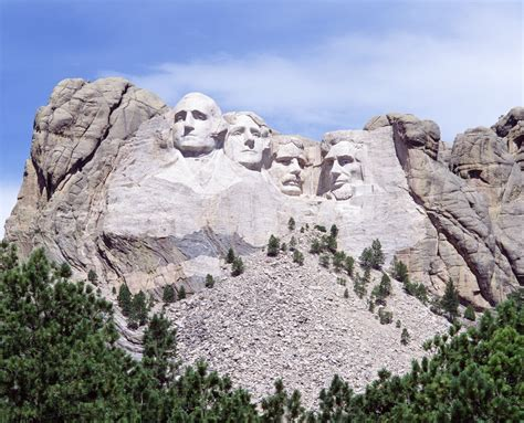 mt rushmore mount rushmore before the carving pics