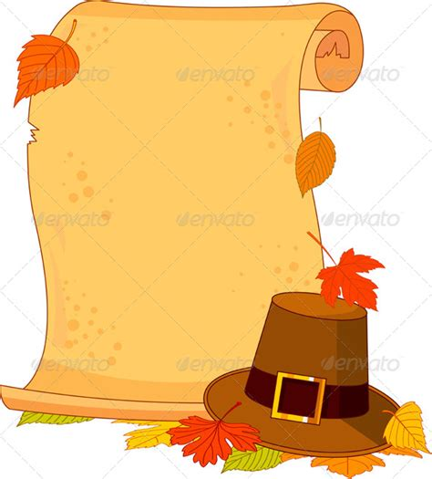 thanksgiving paper template thanksgiving scroll by dazdraperma graphicriver