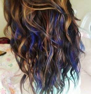 tips for stringy hair 17 best ideas about blue hair highlights on pinterest