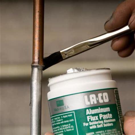 Plumbing Solder Flux by Aluminum Flux Paste La Co